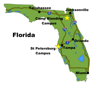 Camp Blanding Florida Map.About Us Mctft